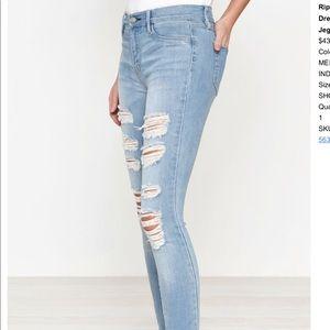 224f48e0565f4 PacSun Jeans | Mae Blue Perfect Fit Jeggings | Poshmark